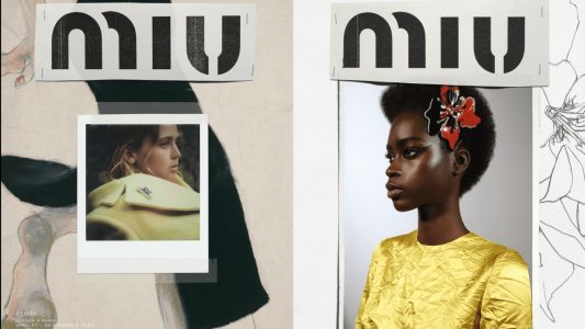 Miu Miu's Fall 2020 Ad Campaign Is a Visual Study on Personal Distance and Proximity