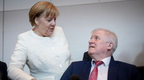 'Can't work with this woman': Key ally Seehofer reportedly jabs Merkel over migration