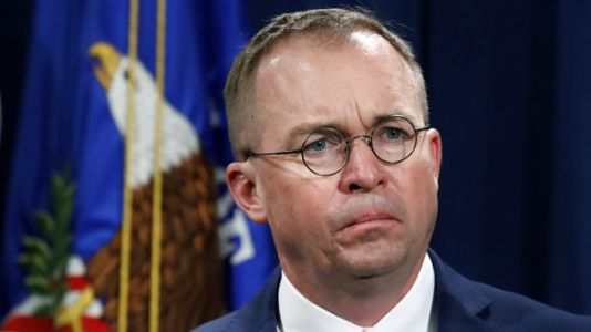 President Trump Names Mick Mulvaney As Acting White House Chief Of Staff