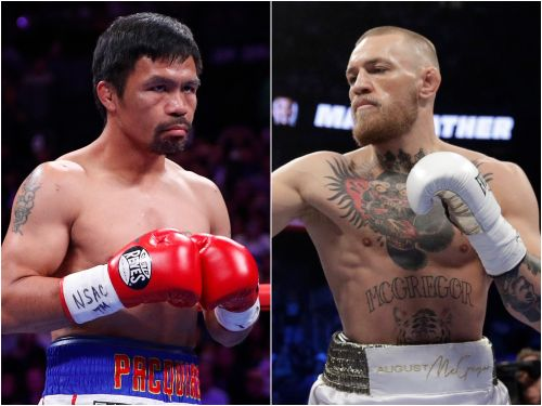 Conor McGregor said he's in talks to box Manny Pacquiao, and a prominent boxing reporter says the Filipino is interested