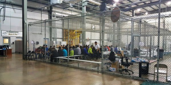 Conservative media insist the 'cages' used to detain migrant children are simply 'fences'