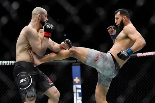 Volkan Oezdemir: 'I clearly won' UFC London fight against Dominick Reyes