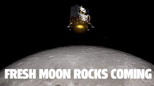 China's Robotic Moon Lander Is On The Moon And Collecting Samples