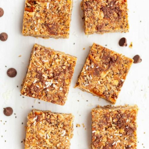 Dark Chocolate Chia Bars