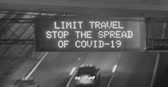 Ohio highway signs urge travelers to stay home amid COVID-19 outbreak