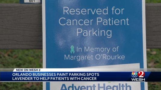Best Space: New initiative to reserve parking spaces for cancer patients