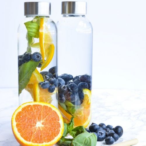 Blueberry Detox Water