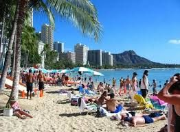 Visitors to theHawaiian Islandsspent a total of $1.70 billion in July this year