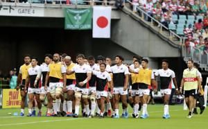 Japan's team takes on South Africa in World Cup knockout