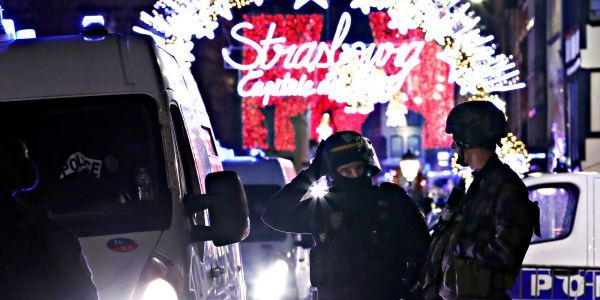French police identified the suspected Strasbourg gunman because he fled the shooting scene in a taxi and bragged to the driver about his attack