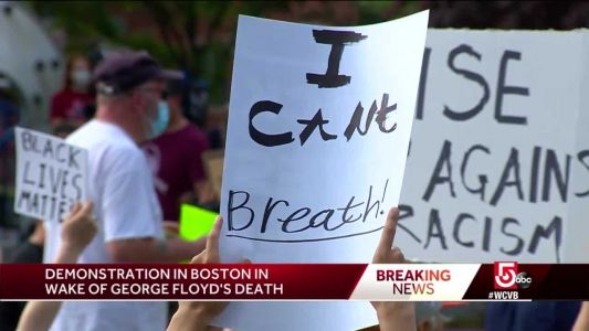 Boston protest held demanding justice for George Floyd