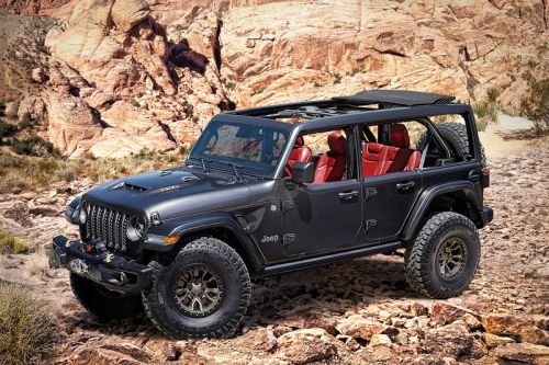 Jeep Rivals Ford Bronco Release With V8 Wrangler Rubicon 392 Concept
