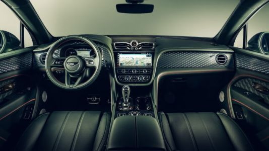 Bentley's Green Interior Looks Like A Sexy Reptile Villain's Lair And I Love It