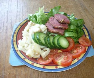 Roasted Corned Beef Salad