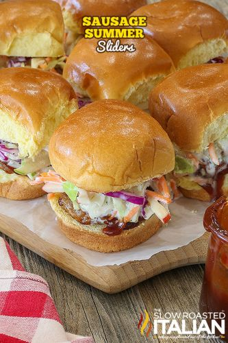 Sausage Summer Sliders