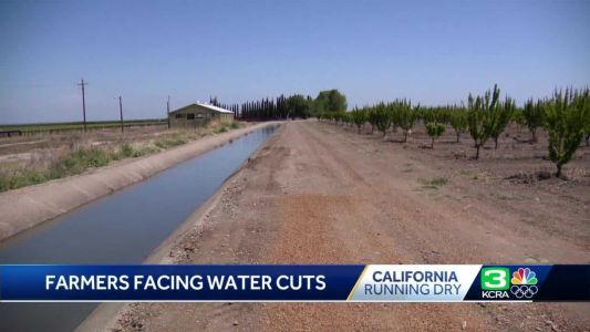 Running dry: California farmers could face the possibility of water cuts