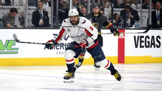 Alex Ovechkin joins rare NHL club with second straight hat trick
