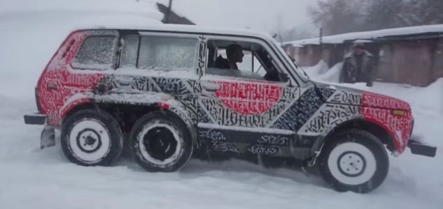 Watch How to Build a 6x6 Off-Roader for Cheap