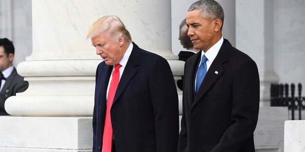 Barack Obama accuses Trump of attempting to 'actively kneecap' the US Postal Service to suppress mail-in votes