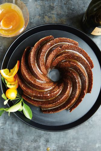Spiced Ginger Bundt Cake
