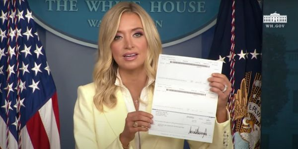 White House press secretary Kayleigh McEnany, who has promoted conspiracy theories about mail-in voting fraud, voted by mail 11 times over the last 10 years