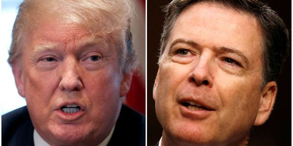 """Trump lashes out on Twitter after James Comey's testimony: """"All lies!"""""""