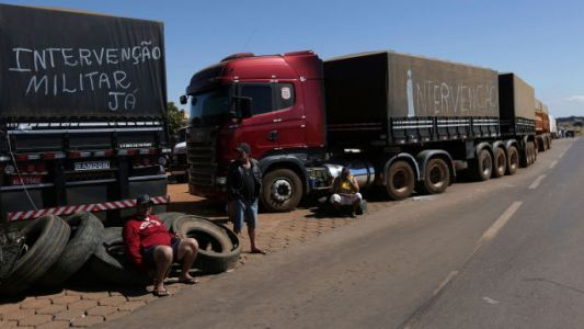 Brazil Is Going Full Mad Max As Truckers Protest High Diesel Prices