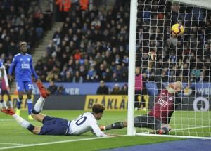 Son inspires Tottenham to 2-0 victory at Leicester