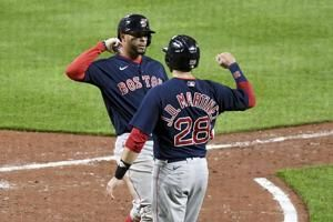 Chavis, Bogaerts hit home runs, Red Sox beat Orioles 11-6