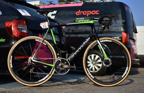 The cycling world can't stop talking about Sunday's hellish-looking Tour de France stage. Here's the bike the best American rider in the race will ride over the cobblestones of northern France