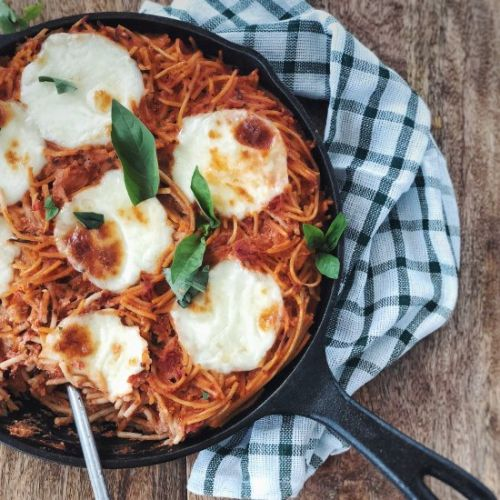 Baked Spaghetti with Perfect Sauce