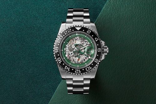 Skeleton Concept Reworks Rolex GMT-Master II for French World Cup Winner