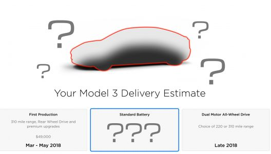 Tesla Removes Mention Of Standard Range Model 3 From Its Website. What's Going On?
