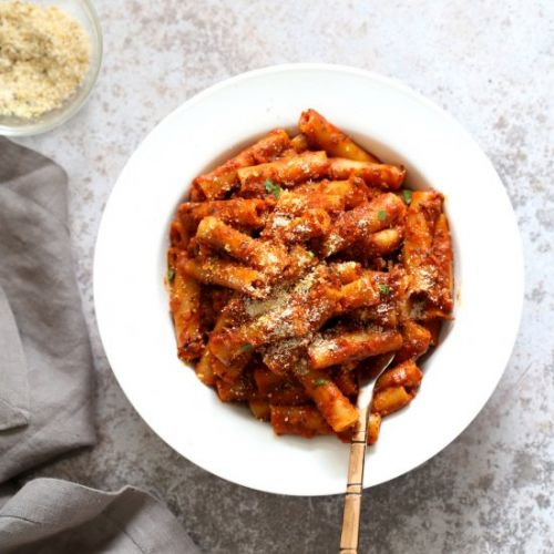 Instant Pot Ziti with Tomato Sauce