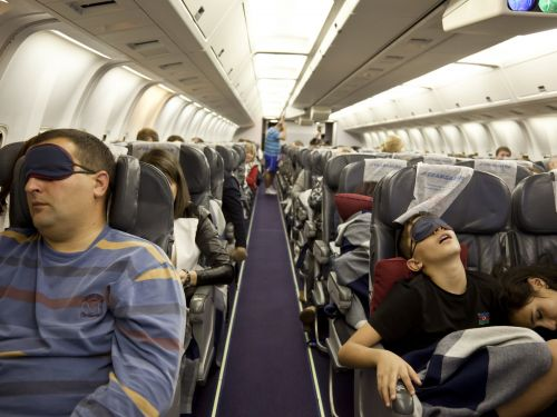 27 of the strangest things people have seen on planes that prove flying is a nightmare