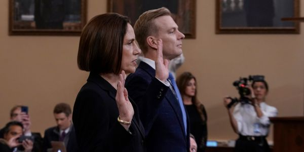 Fiona Hill and David Holmes gave powerful testimony about how everything was about to 'blow up' with Trump and Ukraine. Here are the biggest takeaways from their impeachment inquiry hearing