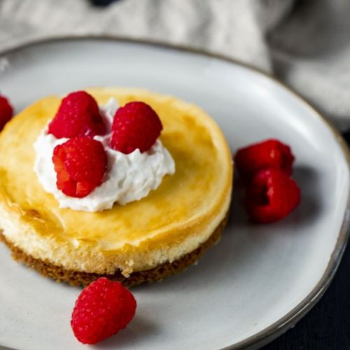 Air Fryer Cheesecake