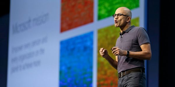Microsoft CEO Satya Nadella sold $35.9 million worth of his shares in the company - his biggest stock sale yet