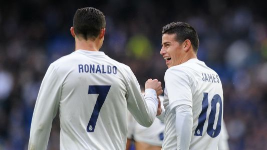 'Fantastic Ronaldo deserves fifth Ballon d'Or' - James backs former Real Madrid team-mate