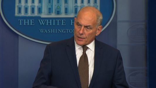 John Kelly 'stunned' by criticism of Trump's call to soldier's widow