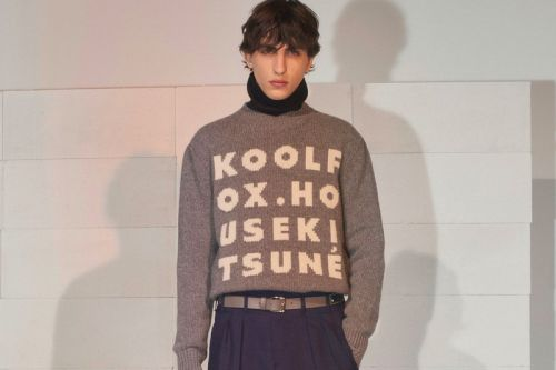 Maison Kitsuné Plays Heavy on Statement Outerwear for Its FW19 Collection