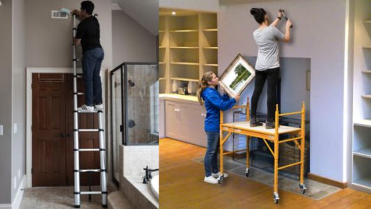 Get Up to 25% Off Ladders and Scaffolding at Home Depot