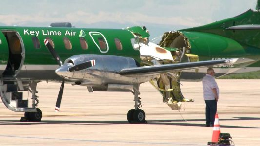 Two small planes in Colorado collided in midair. Incredibly, no one was hurt