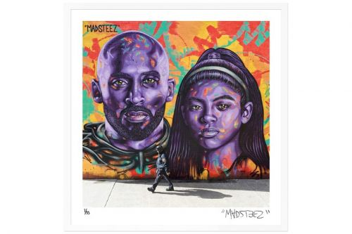 MADSTEEZ Launches Kobe Bryant Prints to Benefit Heart of Los Angeles Charity