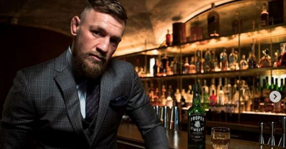 'Notorious' MMA Star Conor McGregor Debuts His Own Irish Whiskey
