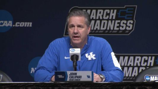 John Calipari discusses UK's opening-round NCAA tournament matchup