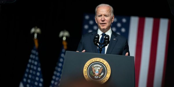Biden appears to criticize Democrats Joe Manchin and Krysten Sinema, saying some members of his party 'vote more with my Republican friends'
