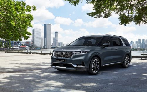 Kia redesigned its minivan to make it look like an SUV and now calls it a 'Grand Utility Vehicle' - take a look at the new Sedona