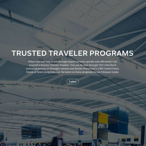 Ultimate Guide to Trusted Traveler Programs