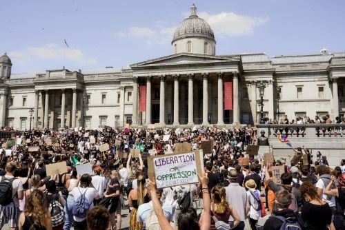 Photos from London's Black Lives Matter protests